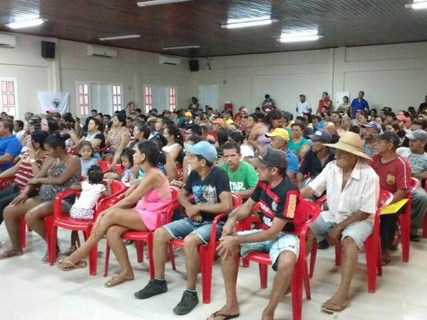 Audiência pública convocada pelo MPF discutiu solução para a situação de moradores de uma área risco, em Altamira, sudoeste do estado. (Foto: Mário de Paula/TVLiberal)