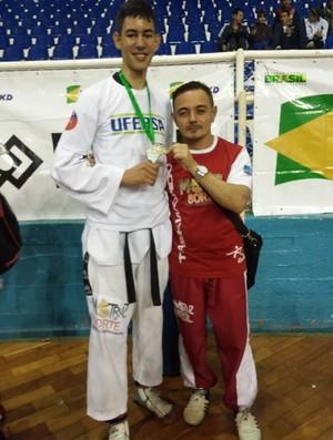 Vitor Hugo, taekwondo, cearense (Foto: Fábio Ronin/Arquivo Pessoal)