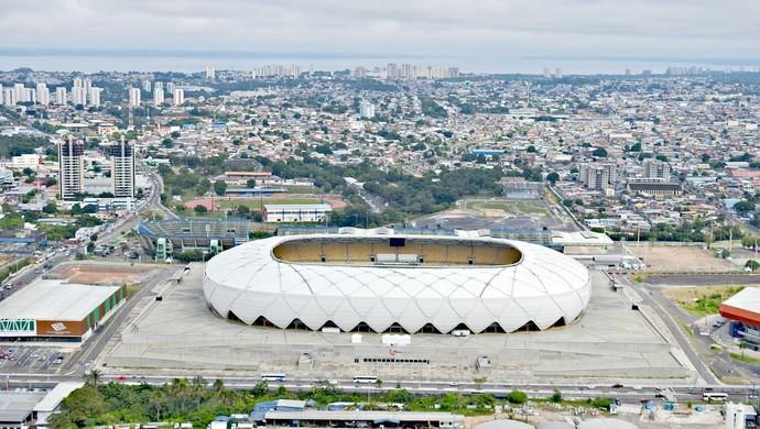 Arena da Amazônia Manaus (Foto: Adneison Severiano/G1 Amazonas)