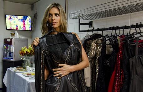 """Fernanda Lima quis um figurinho completamente novo para o SuperStar: """"A atração pede roupas elegantes, glamorosas. Mas elas não podem chamar mais atenção do que o programa em si nem deixar de refletir a minha personalidade"""" Ellen Soares/ TV Globo"""