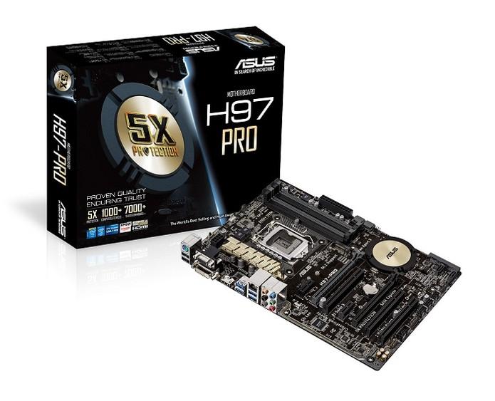 Novas placas são compatíveis com processadores Intel de 4ª e 5ª geração (Foto: Divugalção/Asus)