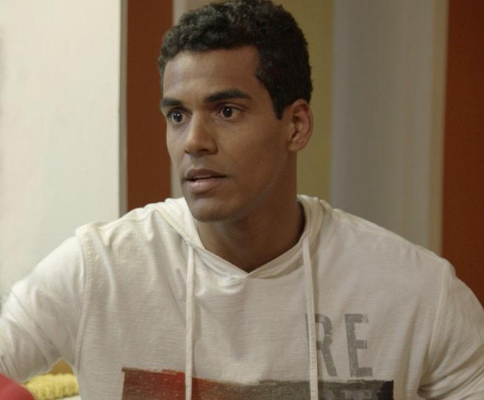 Ivan coloca um ponto final no relacionamento com Sérgio (Foto: TV Globo)