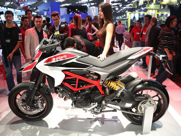 Ducati Hypermotard (Foto: Raul Zito/G1)