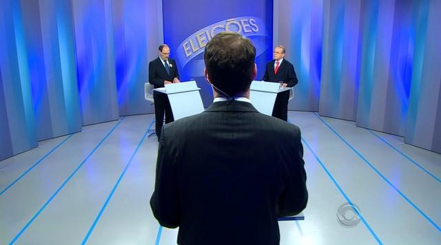 RBS TV recebe candidatos ao Governo do RS em último debate antes de eleições