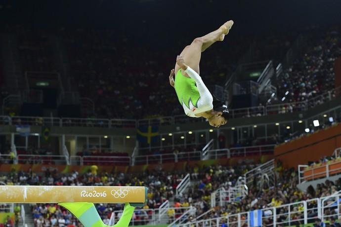 Dipa Karmakar, Índia, barra de equilíbrio ginástica artística (Foto: AFP)