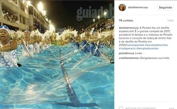 Daniela Mercury (Foto: Reprodução / Instagram)