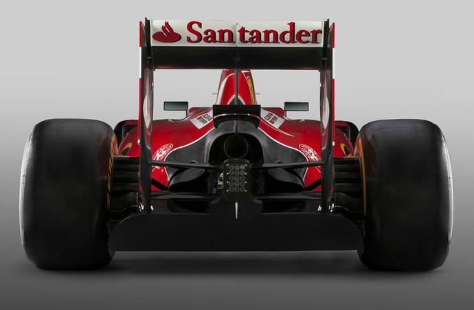 Modelo SF15-T é aposta para recuperação após duas temporadas de resultados ruins da Ferrari (Foto: Divulgação)