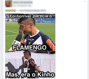 meme kinho choro bernardo (Foto: Reprodução/Facebook)