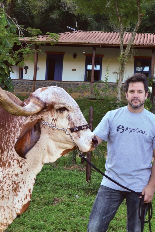 Murilo Benício (Foto: Divulgação / Revista Animal Business)