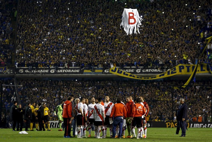 drone, Boca Juniors x River Plate (Foto: Reuters)