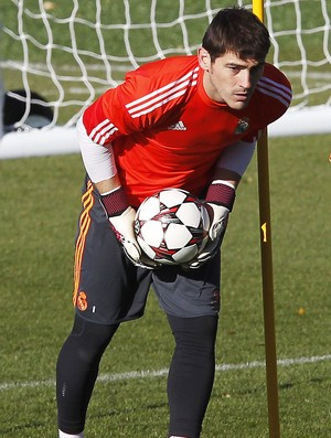 Treino do Real Madrid Iker Casillas (Foto: EfeServicios )