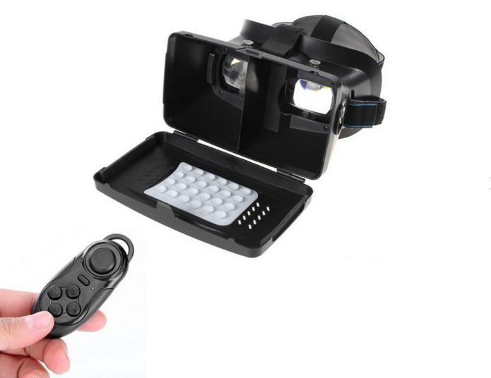 a10a19ada53b0 RITECH II conta com ventoinhas para prender celular e pode ser usado com  óculos (Foto