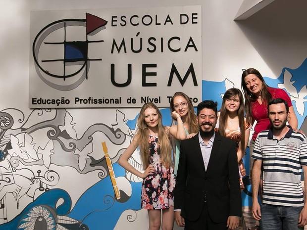 Matrículas serão feitas em 18 e 19 de agosto (Foto: Divulgação/Escola de Música da UEM)