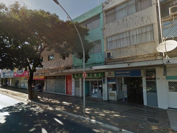 Comércio na W3 Sul em Brasília (Foto: Google/Reprodução)
