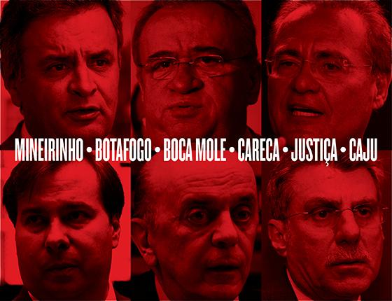 O significado dos apelidos da Odebrecht para se referir aos políticos (Foto: ÉPOCA)