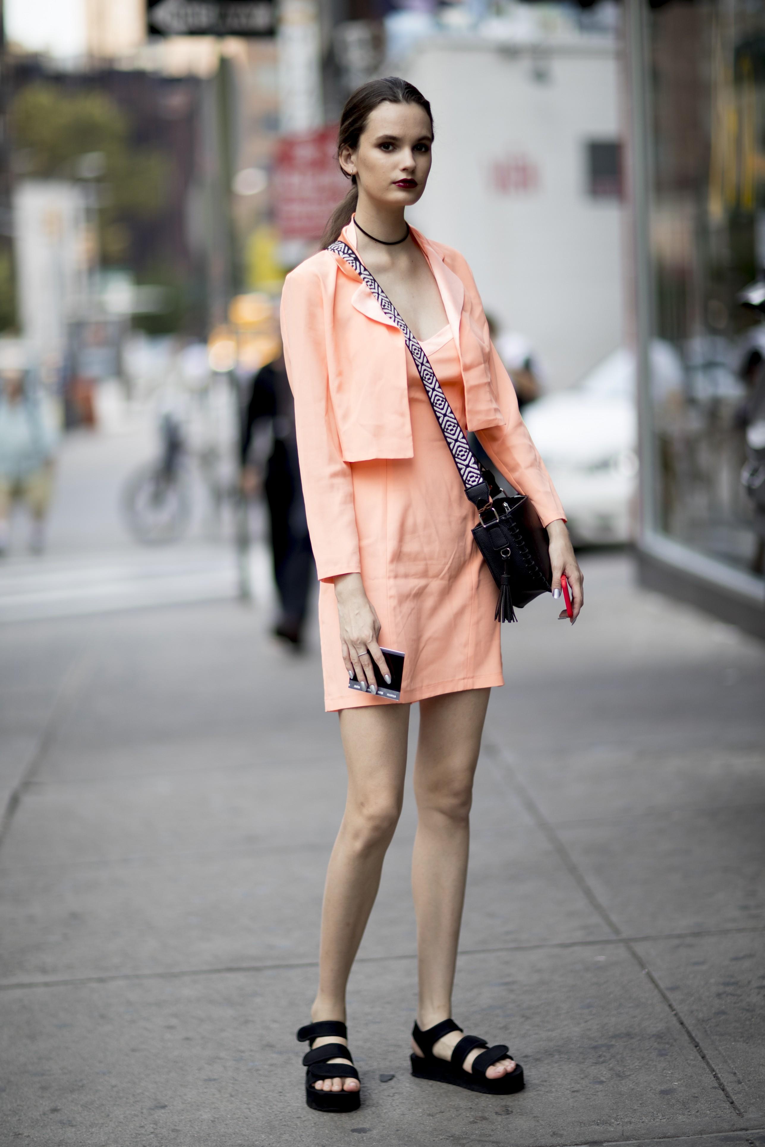 Street style NYFW (Foto: Imaxtree)