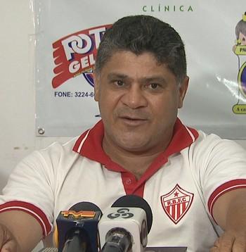Célio Ivan, técnico do Rio Branco (Foto: Reprodução/Rede Amazônica Acre)