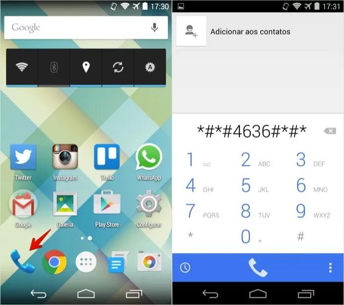 Código revela informações da bateria do Android (Foto: Reprodução)