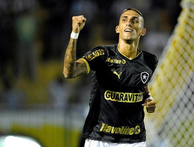 Rafael Marques gol Botafogo Vasco (Foto: Fábio Castro / Agif)