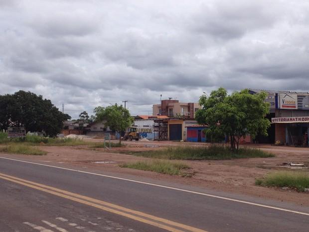 Bairro Marabaixo, zona oeste da capital, não está registrado como bairro de Macapá (Foto: John Pacheco/G1)