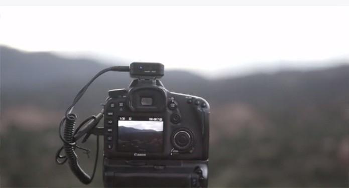 CamBuddy Pro tem visualização do cenário em tempo real no app, como no display da câmera (Foto: Divulgação/Kickstarter)