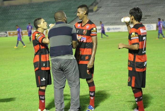 Vladimir de Jesus, técnico do Flamengo-PI  (Foto: Josiel Martins)