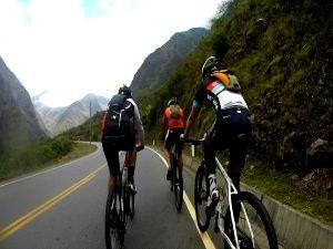 Amigos percorreram o Peru de bicicleta (Foto: Amazônia Revista Acre)