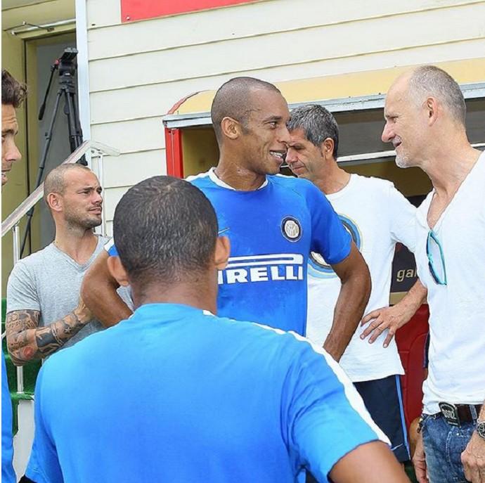 BLOG: Antes de amistoso, Inter de Milão visita o Galatasaray e promove reencontros