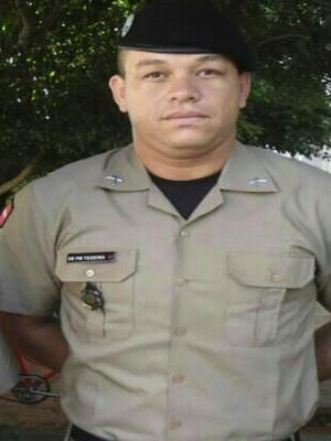 Soldado Jenilson trabalhava na Polícia Militar da Paraíba e foi morto em Macaíba, RN (Foto: Divulgação/Polícia Militar)