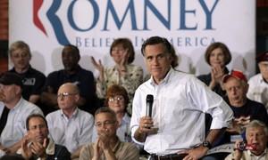 Romney vence primárias de Indiana, Carolina do Norte e Virgínia Ocidental