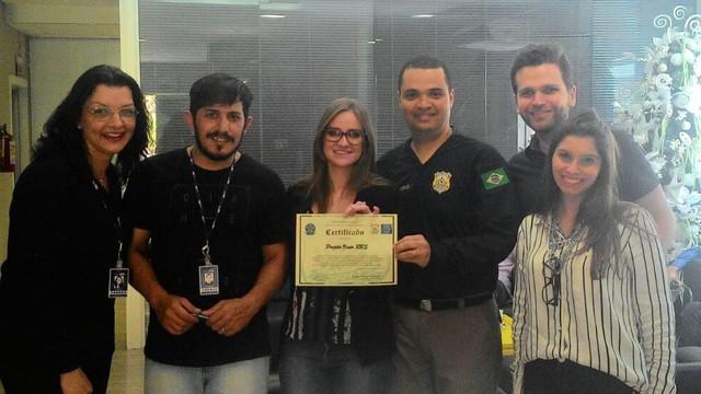 Projeto Viver RBS recebe reconhecimento da Polícia Rodoviária Federal (Foto: RBS TV/Divulgação)