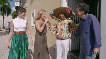 Angelica, Andréia Horta e Paulo Betti estão em Belém