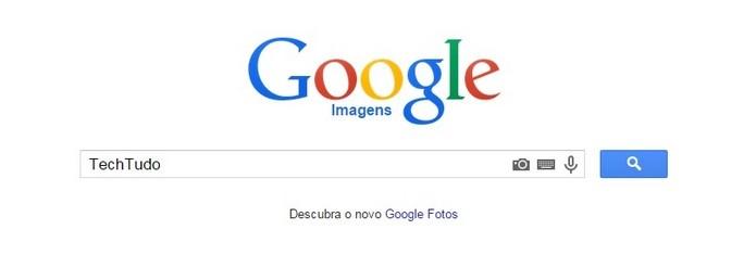 Google Imagens tem funcionamento simples (Foto: Reprodução/Raquel Freire)