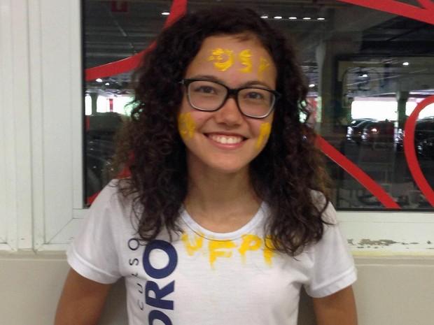 Diana Nakamura Pereira ficou em 1º lugar em medicina na Unesp (Foto: Divulgação)