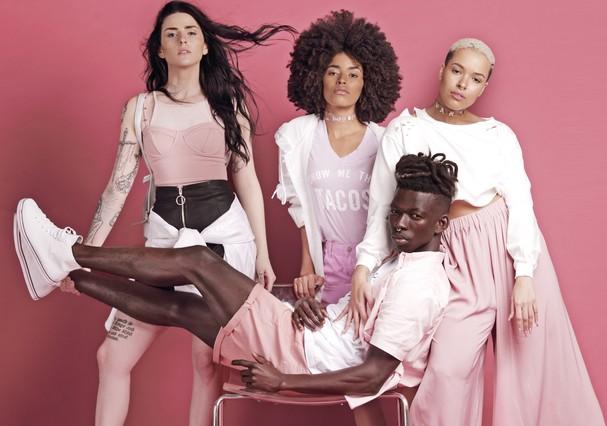 Influencers brasileiros estrelam campanha do preview de primavera (Foto: divulgação)