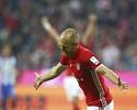 Após seis meses, Robben retorna  com gol, e Bayern se isola na liderança
