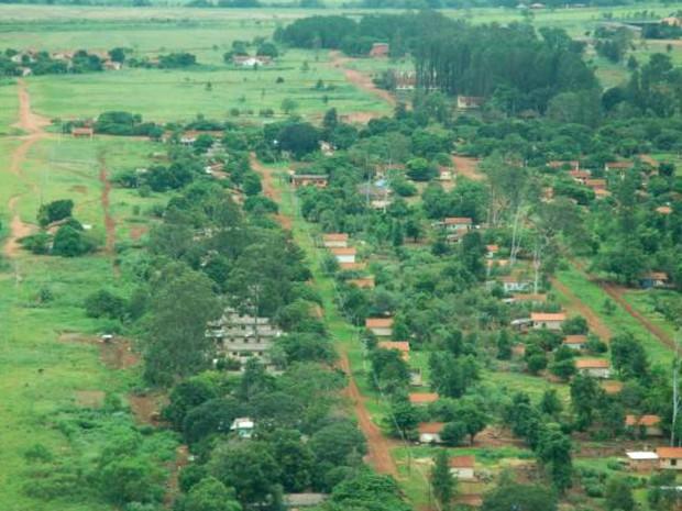 Projeto de Assentamento Santa Aurélia, no município de Indiavaí, criado em novembro de 2015 (Foto: Divulgação/Incra-MT)