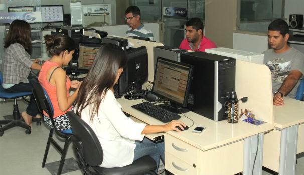 Edição da TV Gazeta  (Foto: Divulgação/ Serivaldo Júnior)