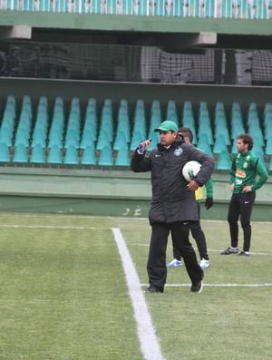 Marquinhos Santos Coritiba (Foto: Gabriel Hamilko / GloboEsporte.com)