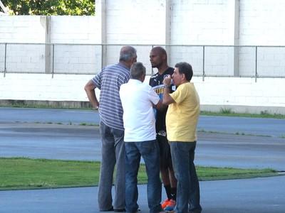Jefferson Treino Botafogo (Foto: Fred Huber)