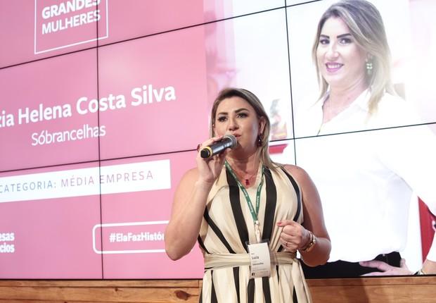 Luzia Helena Costa Silva, da Sóbrancelhas (Foto: Keiny Andrade)