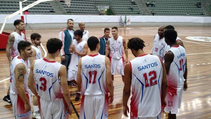 Internacional Basquete Santos (Foto: Divulgação / Sylvio Ortiz)