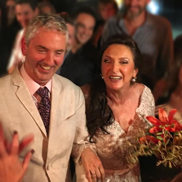 Ruud Dankers  e Débora Olivieri (Foto: Reprodução/Instagram)