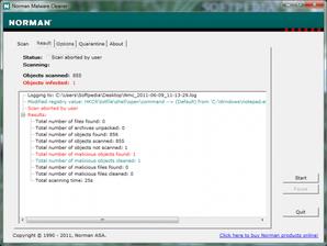 Normam Malware Cleaner