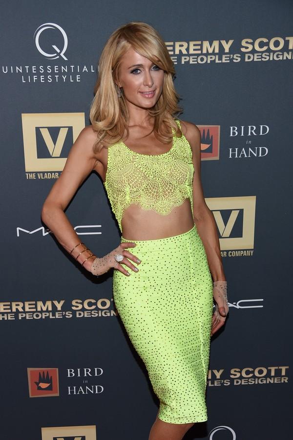 Paris Hilton abandonou uma entrevista (Foto: Getty Images)