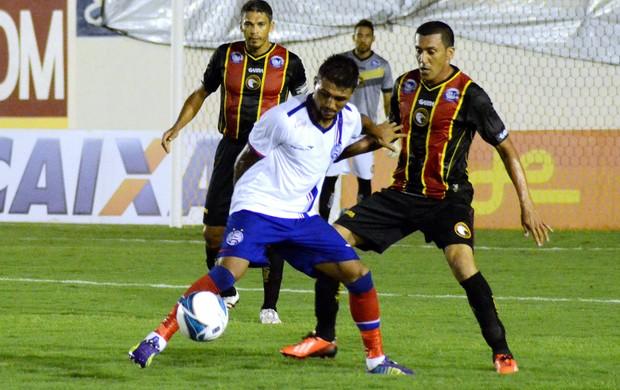 Globo FC X Bahia (Foto: Frankie Marcone / Estadão contéudo)