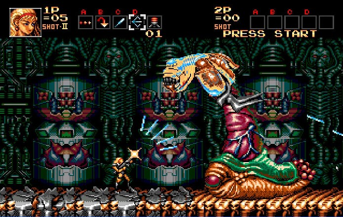 Contra H.A.R.D. Corps tinha uma dificuldade insana (Foto: Reprodução/Comunidade Mega Drive)