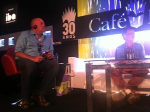 Matthew Quick autor bienal 2 (Foto: Isabela Marinho/G1 Rio)