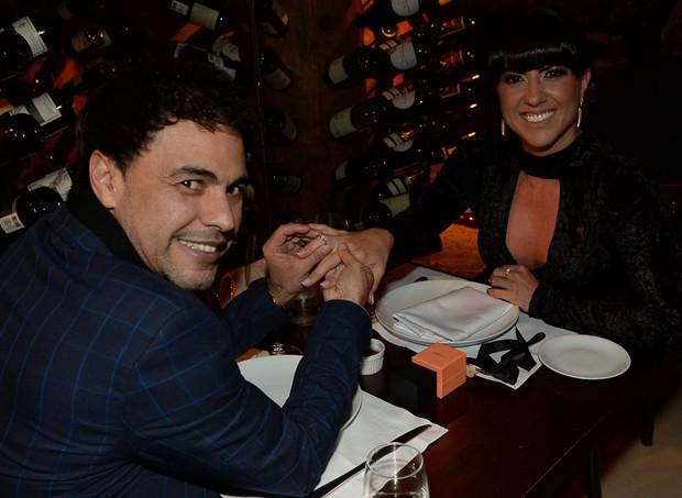 Zezé Di Camargo e Graciele Lacerda (Foto: Francisco Cepeda/AgNews)