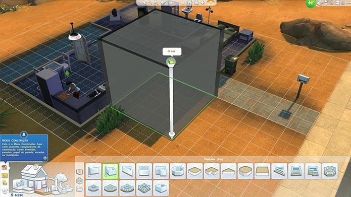 Construir e mobiliar ficou muito mais fácil em The Sims 4 (Foto: Reprodução/Tais Carvalho)
